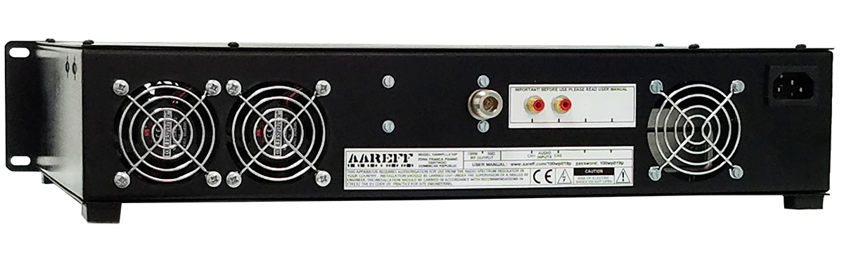 Veronica Aareff 100W FM Broadcasting Transmitter 2