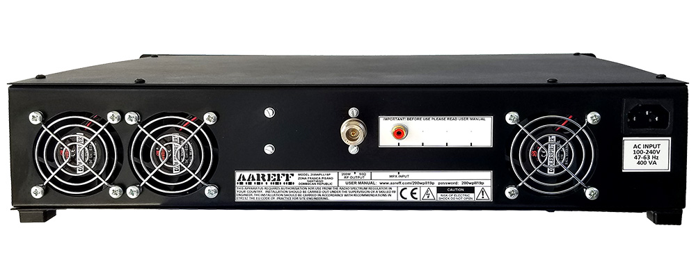 Veronica® Aareff 200W FM Broadcasting Transmitter