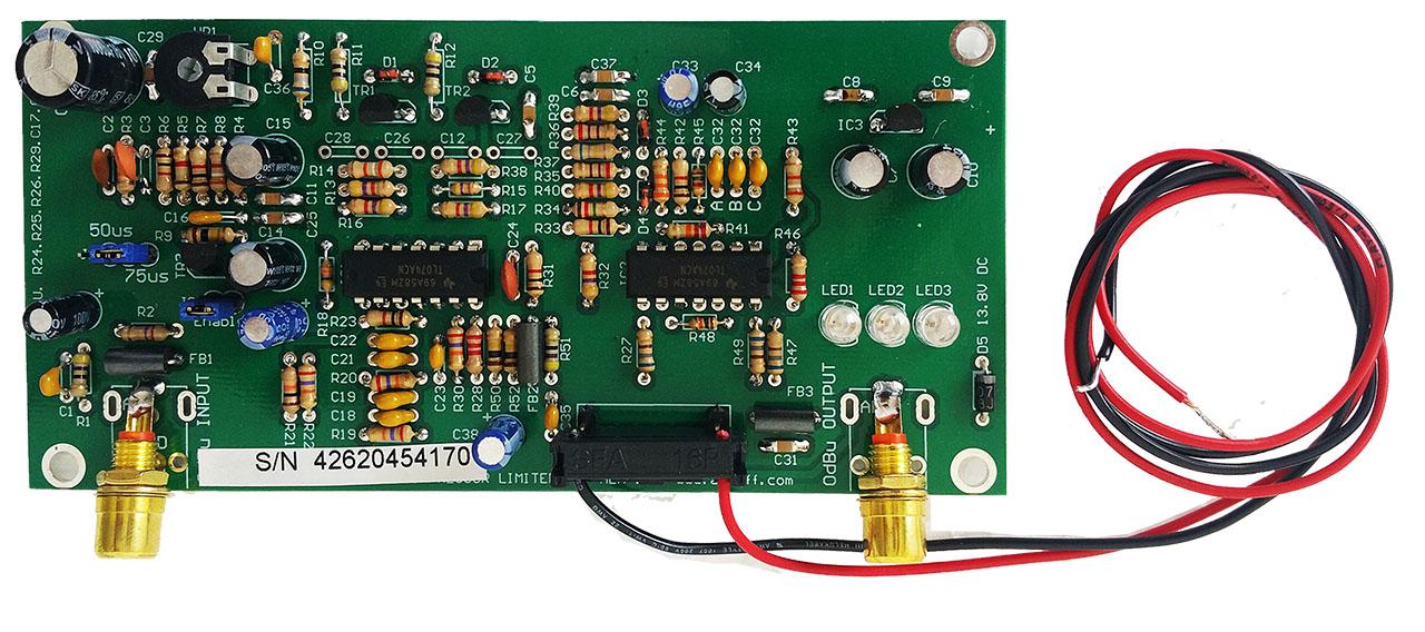 The Original and Genuine Veronica® Audio Limiter
